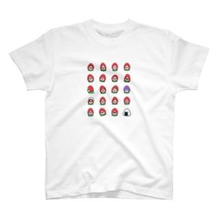 いちごたくさん T-shirts