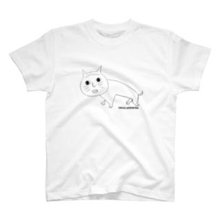 kuro neco T-shirts