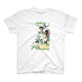 枕慈童とまくらなげ T-shirts