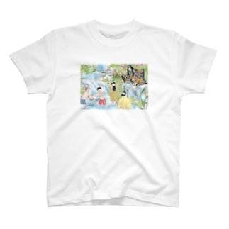 養老の滝はいい滝だ T-shirts