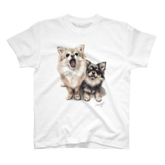 チワワ7 T-shirts