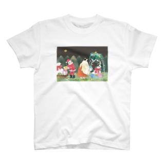 メリクリ定家 T-shirts