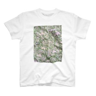 memo 緑空 実T T-shirts