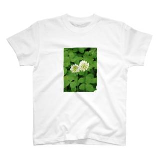 シロツメクサ T-shirts