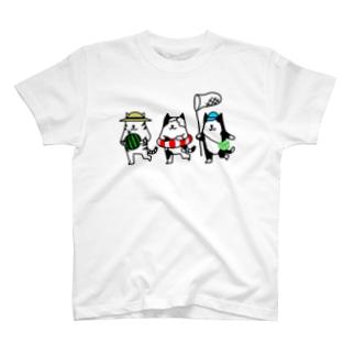 るんたった猫・夏 T-shirts