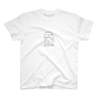 チーズ3つ分の背の高さ(ねずみver) T-shirts