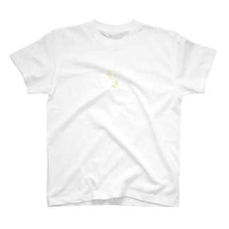 3103(ミートミー)のきいろいちゅーりっぷ T-shirts
