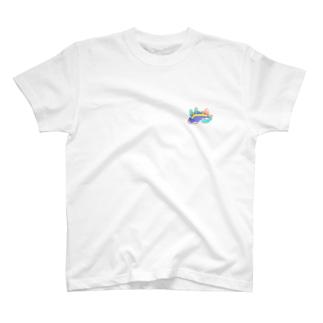 ゆるっと♪むにゅっと!うみうしくん(文字無し) T-shirts