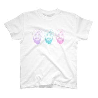ターバンさんのゆめかわターバンさん T-shirts