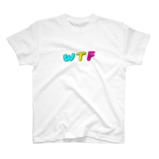ザ・ライフ・オブ・ワタシのWTF T-shirts