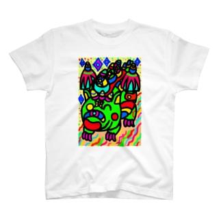 竜のウォッチ T-shirts