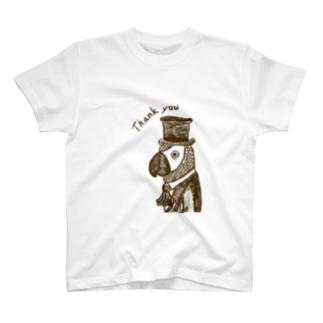 ヨウム男爵 T-shirts
