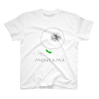 めんたま(ロゴ入り) T-shirts