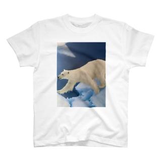 とーくんショップの白くまん T-shirts
