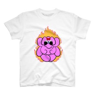 ゆるふわガネーシャ【愛】 T-shirts