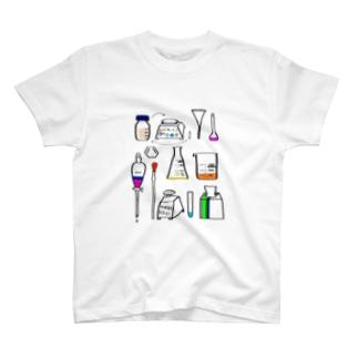 実験器具 T-shirts