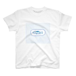 ふかふか寝具店のおさかな T-shirts
