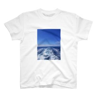 イタリアの空と海 T-shirts