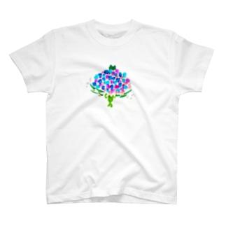 アジサイちゃん T-shirts