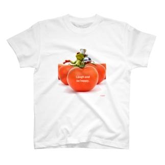 y's papa ハッピーフロッグ T-shirts