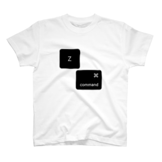 command-zデザイン(ショートカット⌘z) T-shirts