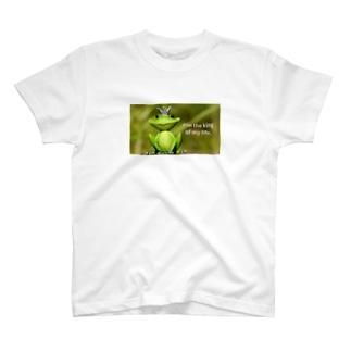 y's papa ハッピーフロッグ2 T-shirts