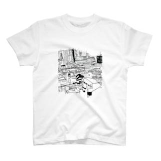 終わらない街 T-shirts