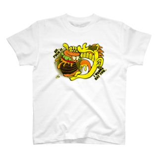 YELLOW JUNKIE 「ハンバーガー食べたい」 T-Shirt