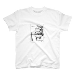 kanasiiutage(呼称:うたげ)の紙飛行機 T-shirts