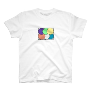 わたしのすきなもののグラフィック まるまる T-shirts