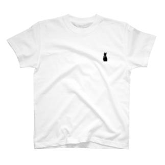 ねこシルエット T-shirts