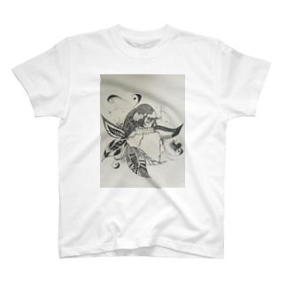 花の中に T-shirts