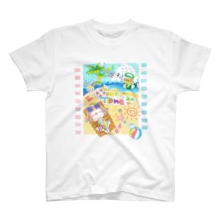 ビバカンスTシャツ T-shirts
