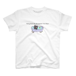 Uchaねこさんのお風呂 T-shirts