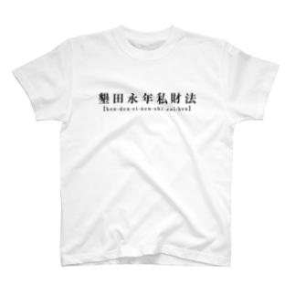墾田永年私財法 T-shirts