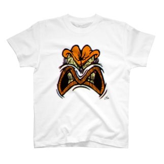 YELLOW JUNKIE 「怒ったご尊顔」 T-shirts