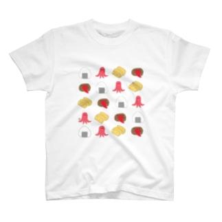 お弁当のおかずくん T-shirts