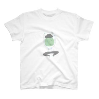 渡志ノエの飛び跳ねboy T-shirts