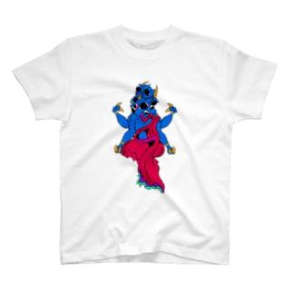 智恵の牛 T-shirts