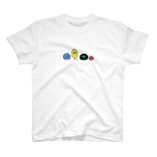 宇宙生物Tシャツ T-shirts