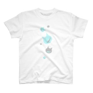 飴玉ネコ T-shirts