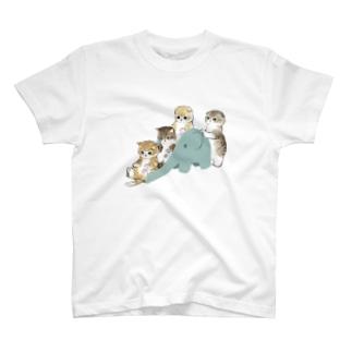 もふもふ渋滞 T-shirts