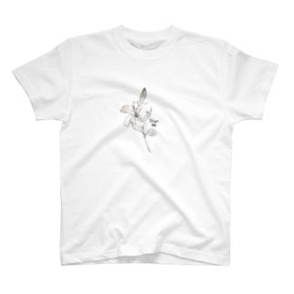 おとめ座の誕生花 T-shirts