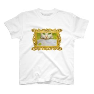 ARS GALS アルス・ギャルズのマスカット白猫 T-shirts