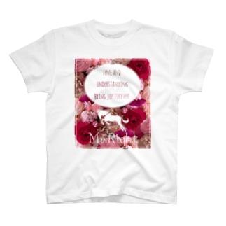 花柄ファッション「ラナンキュラスの愛情」 T-shirts