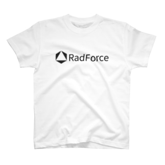 RadForce Simple Logo White T-shirts
