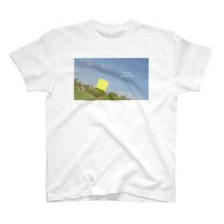 おさんぽグリーンモンスター T-shirts