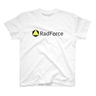 RadForce Simple Logo Yellow T-shirts