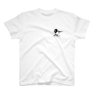 シジュウカラ T-shirts
