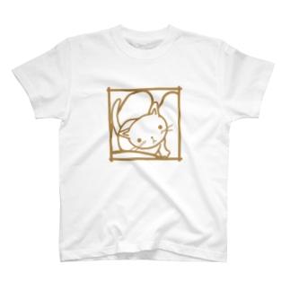 ひざネコ T-shirts